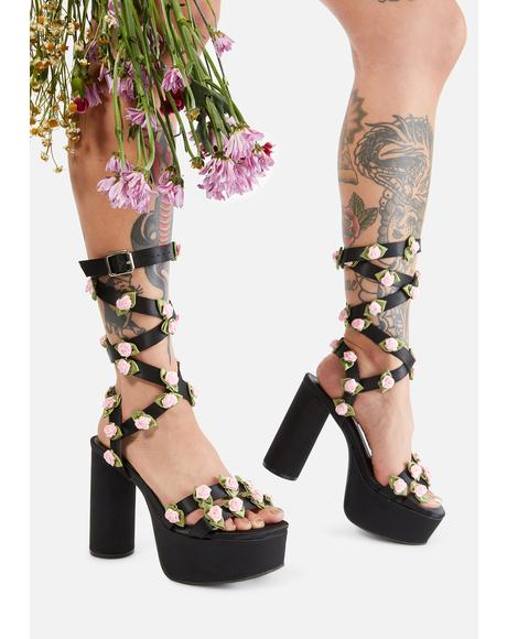 Path To Passion Wrap Heels