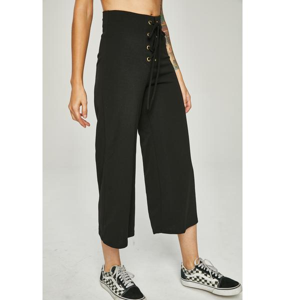 Lost Soul Lace-Up Pants
