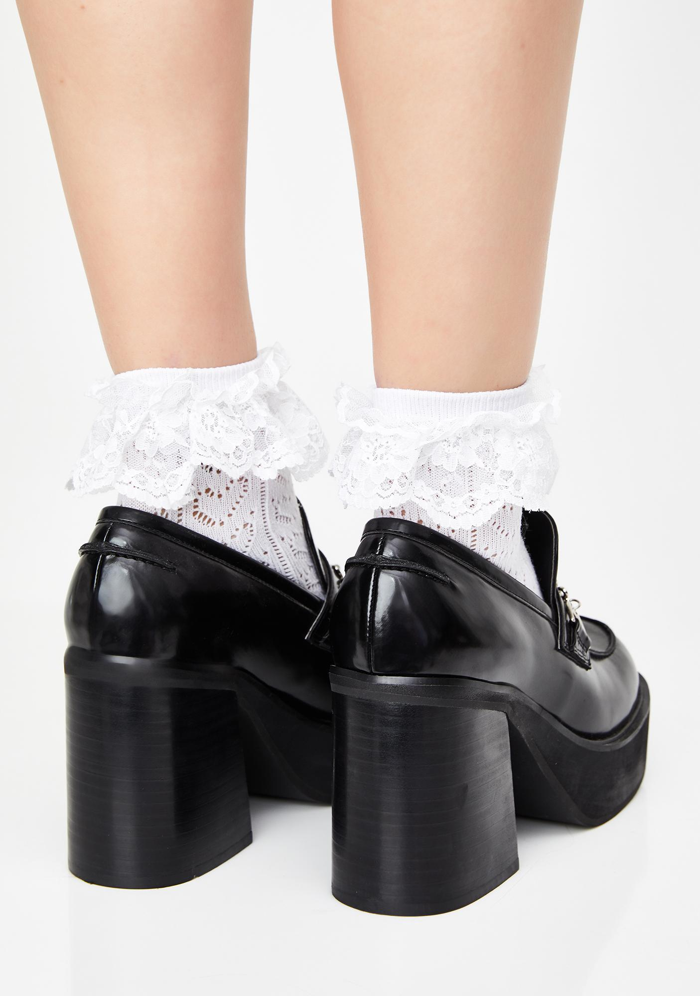 dELiA*s by Dolls Kill Type A Personality Chunky Loafers