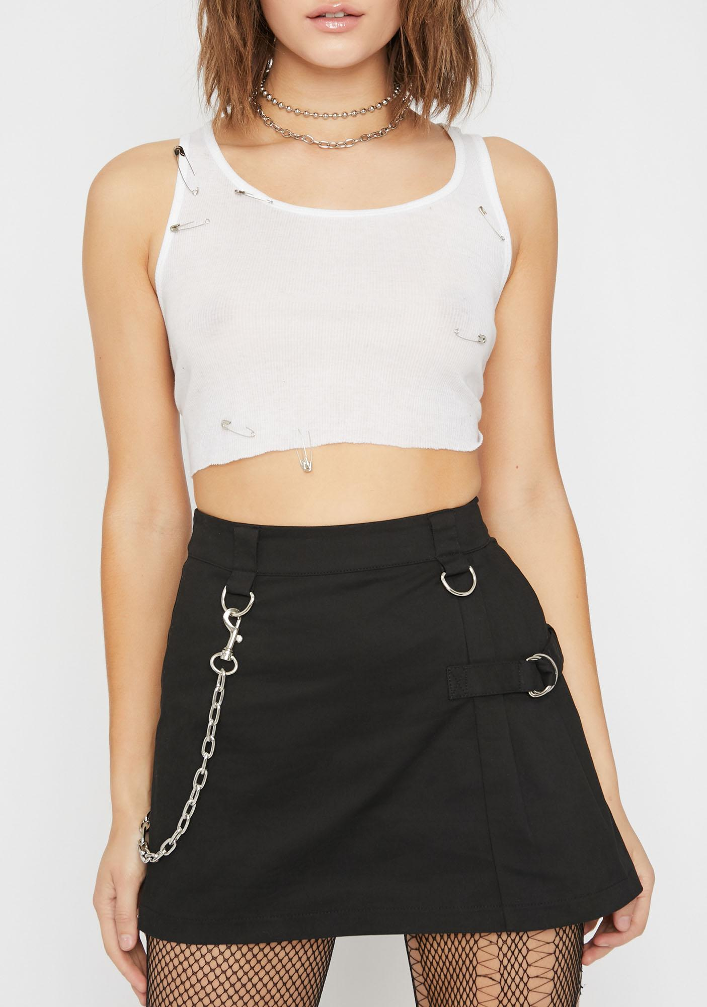 Current Mood Feel The Noize Mini Skirt