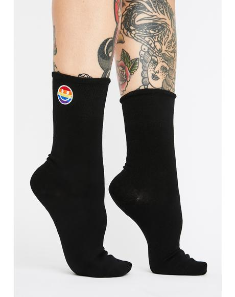 Twisted Revolt Crew Socks