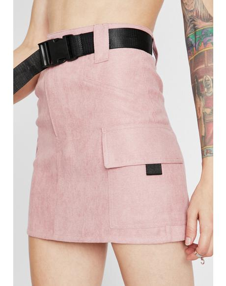 Lady Packin' Heat Cargo Skirt