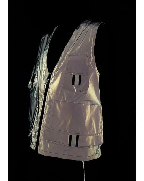 Reflective Cargo Vest