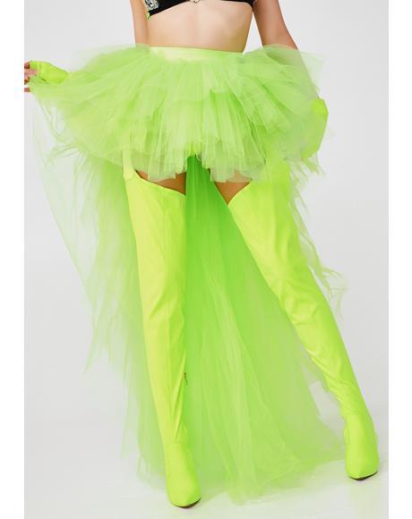 Slime Titania Trance Tulle Skirt