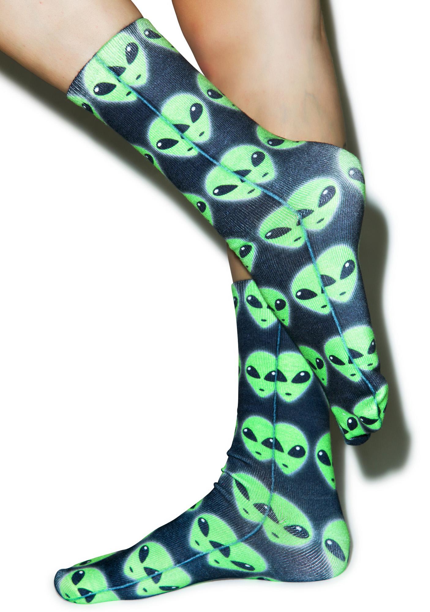 Foreign Crew Socks