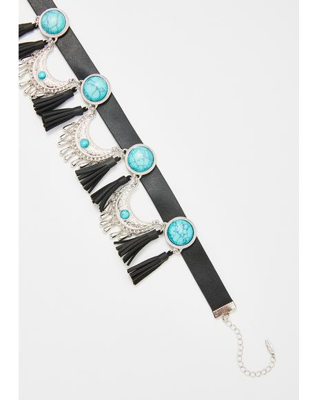 Freebird Haven Gemstone Choker