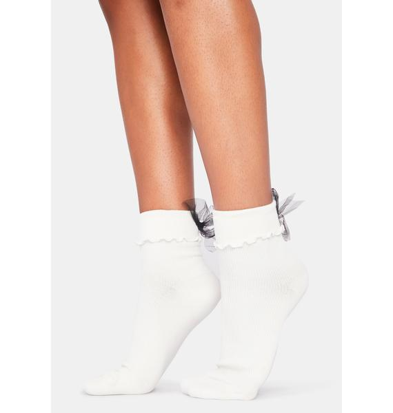 All About Bows Socks