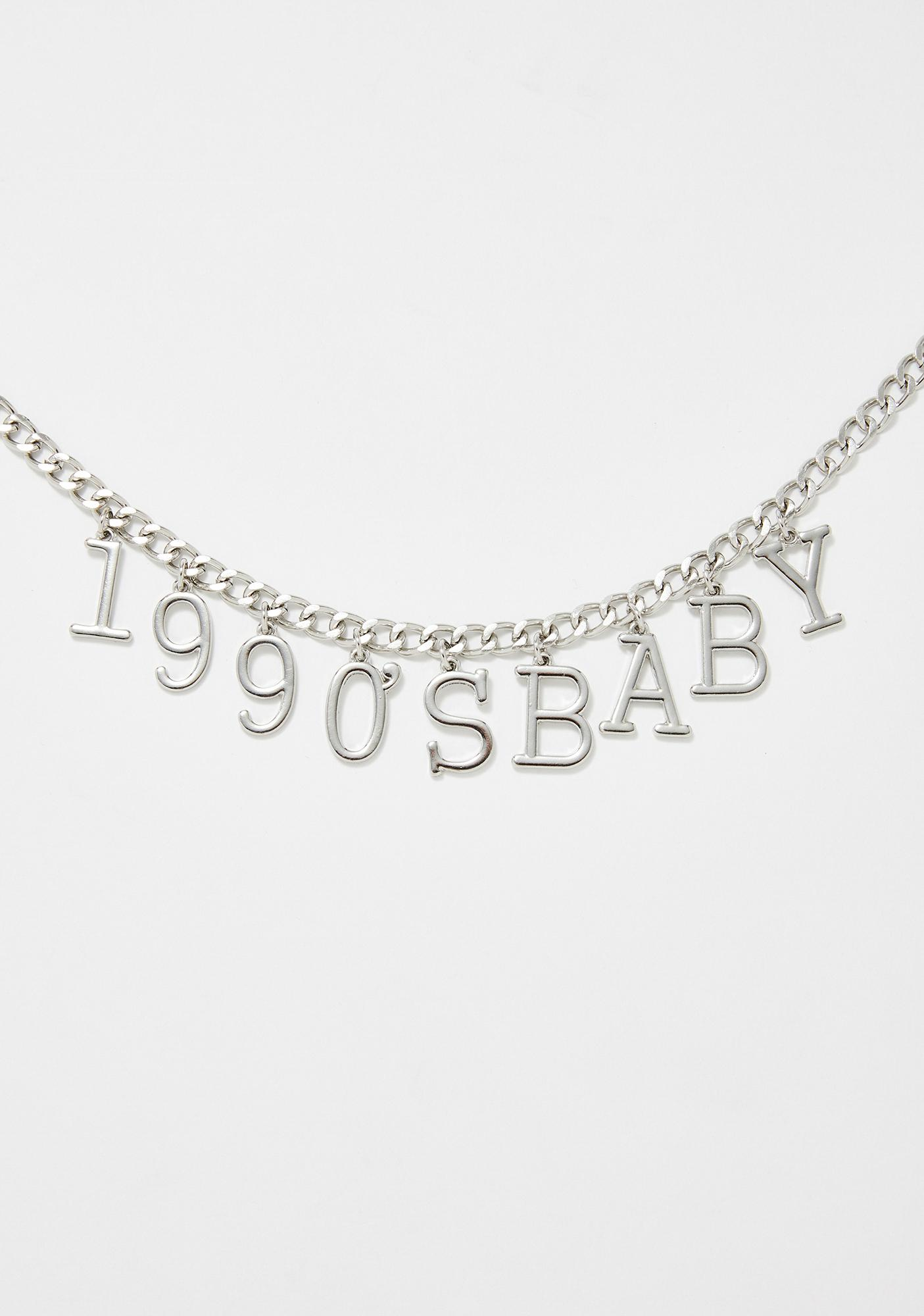 Nineties Baby Chain Necklace
