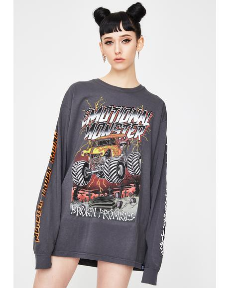Coffin Jump Long Sleeve Graphic Tee
