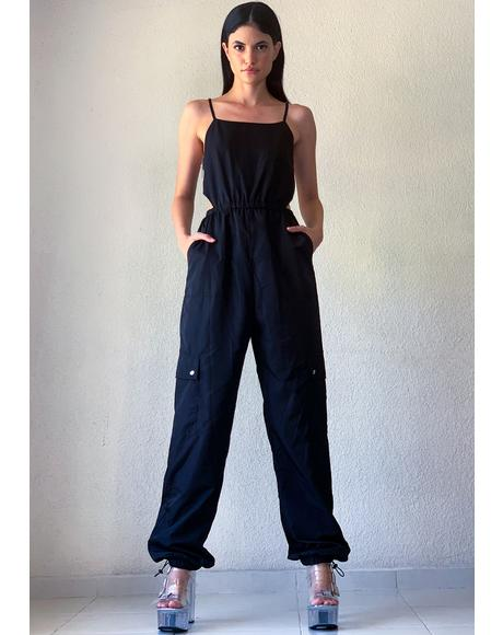 Do It Myself Sleeveless Jumpsuit