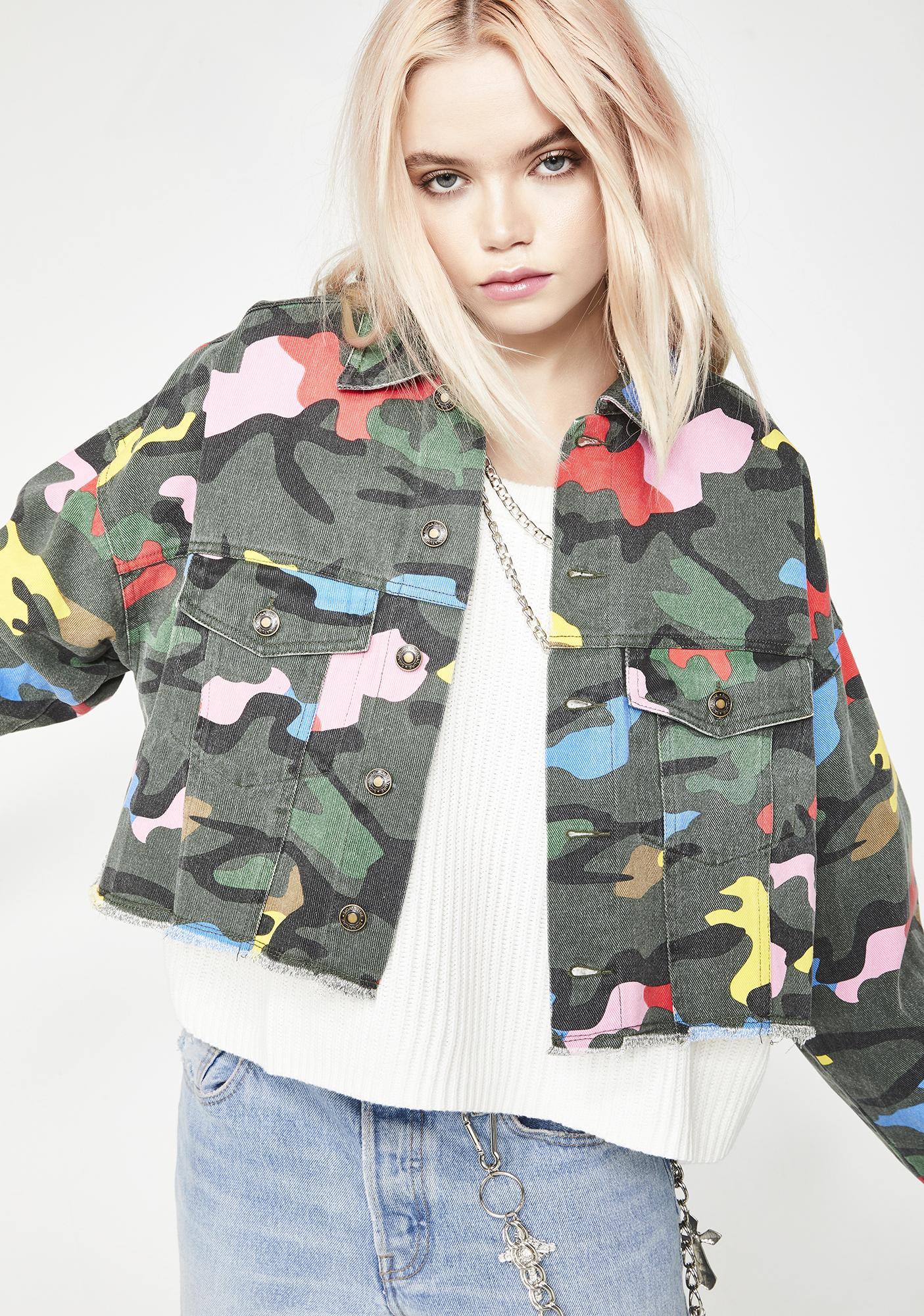 Crayon Melt Camo Jacket