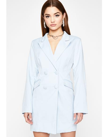 Higher Up Blazer Dress