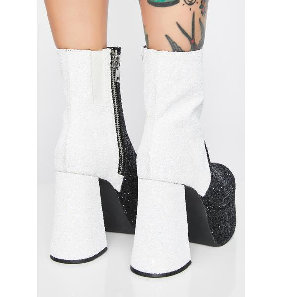 HOROSCOPEZ Diamond Duality Sparkle Boots