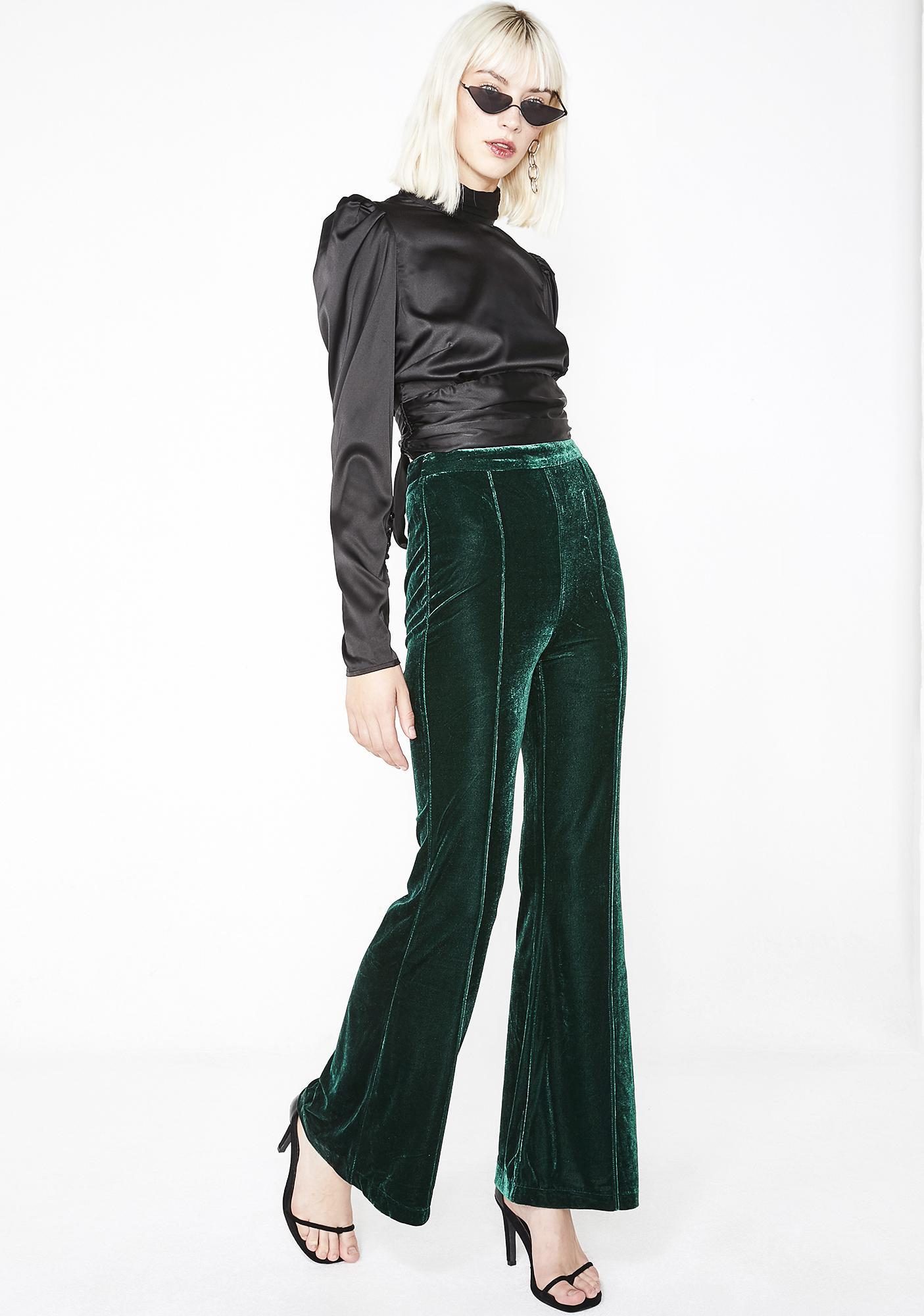 Luxxurious Lady Velvet Pants