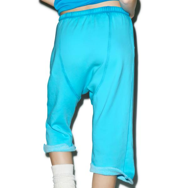 Wildfox Couture Mermaids Never Cry Couch Princess Jogger