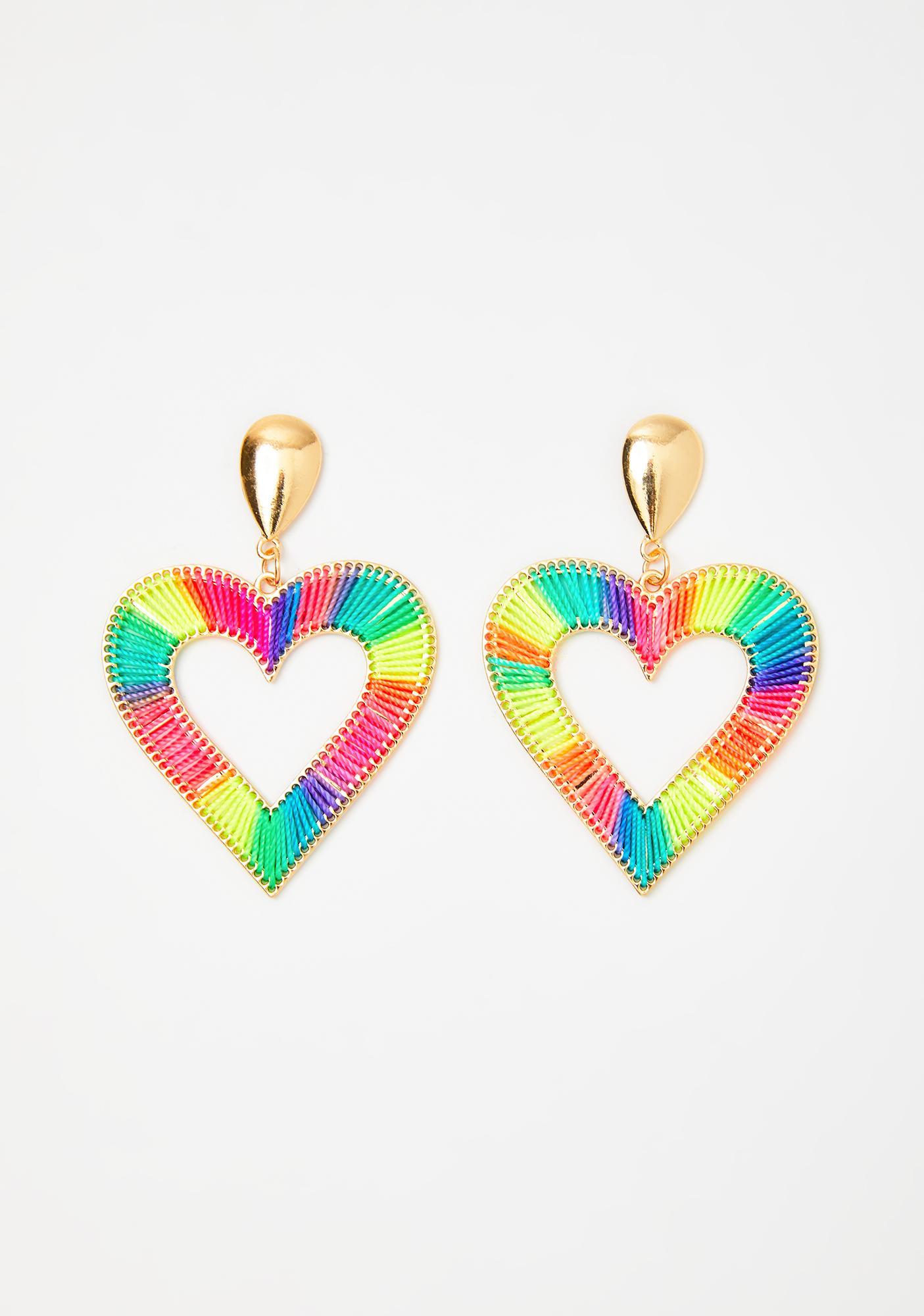 Thread Of Love Drop Earrings