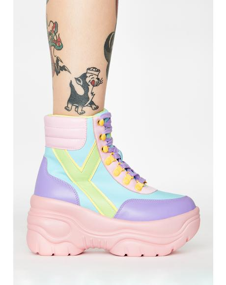 Hi Matrixx 2 Pastel Platform Sneakers