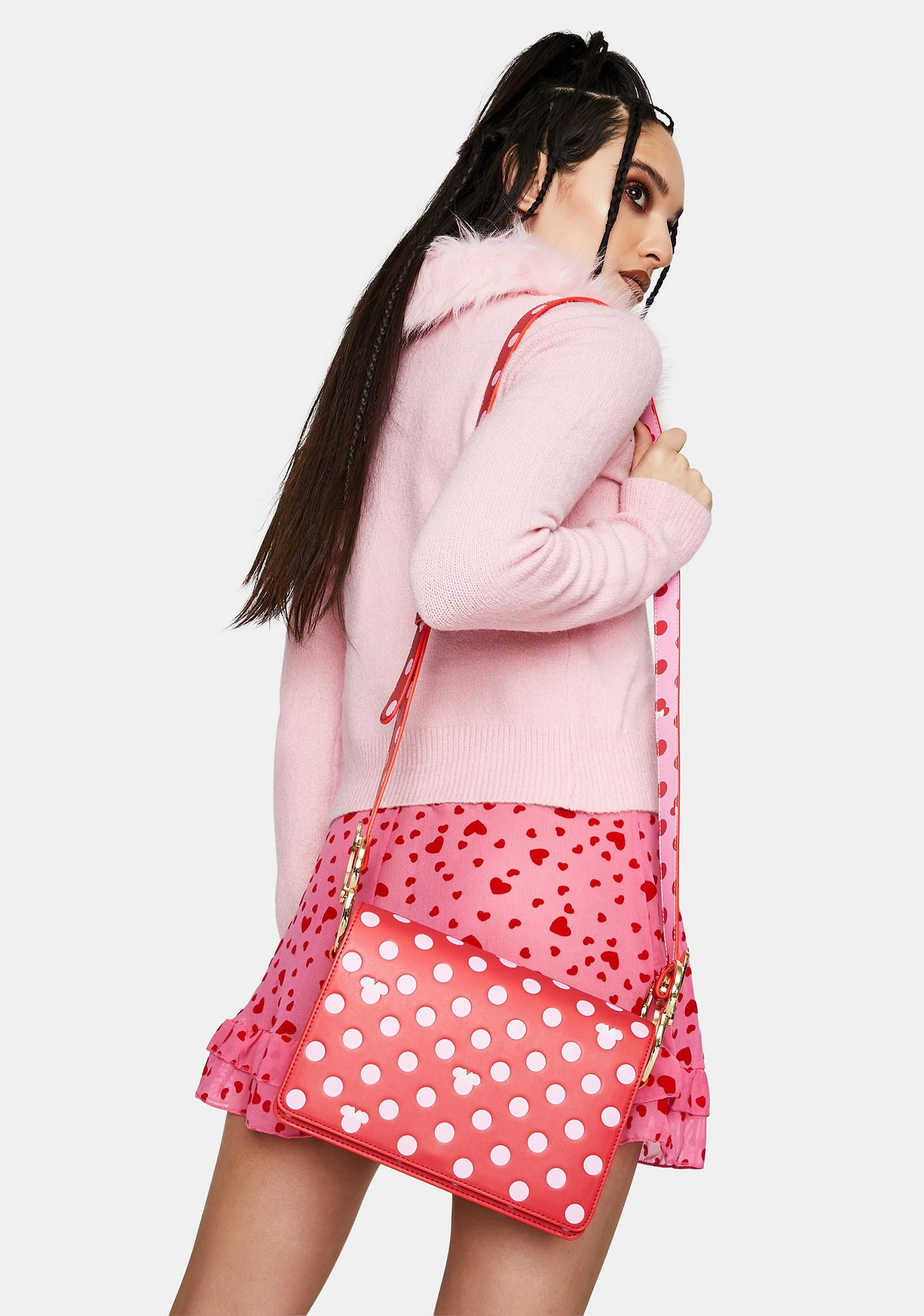 Loungefly Disney Minnie Mouse Polka Dot Crossbody