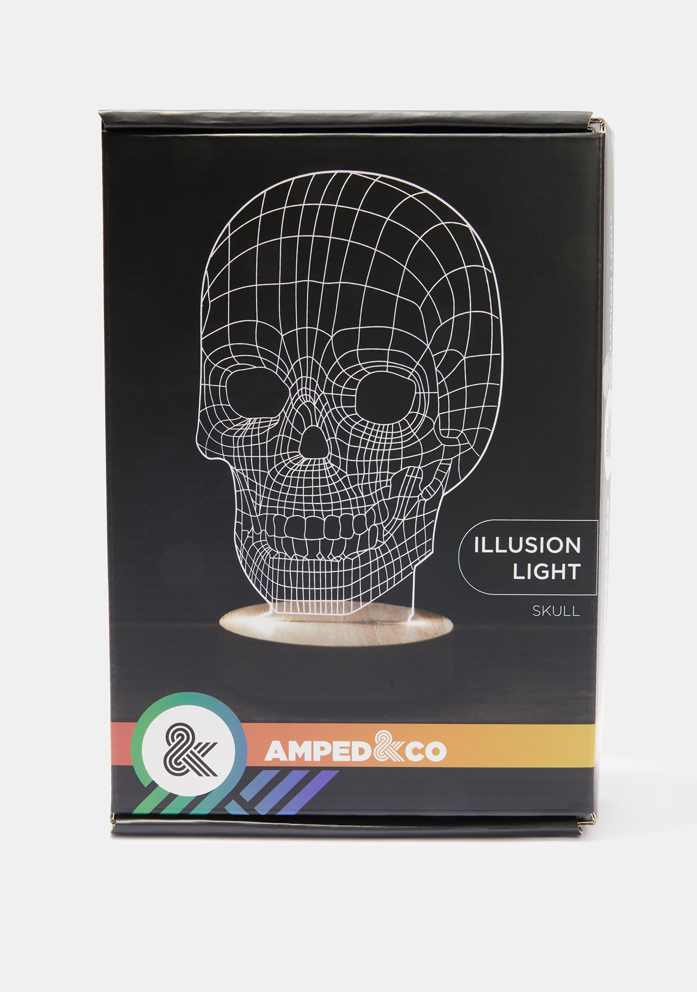 Amped & Co Skull Illusion Light