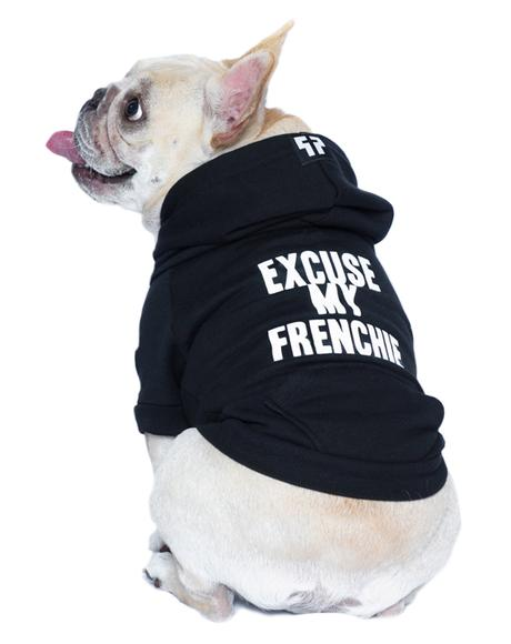 Excuse My Frenchie Dog Hoodie