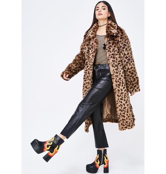 Leopard Pounce Coat