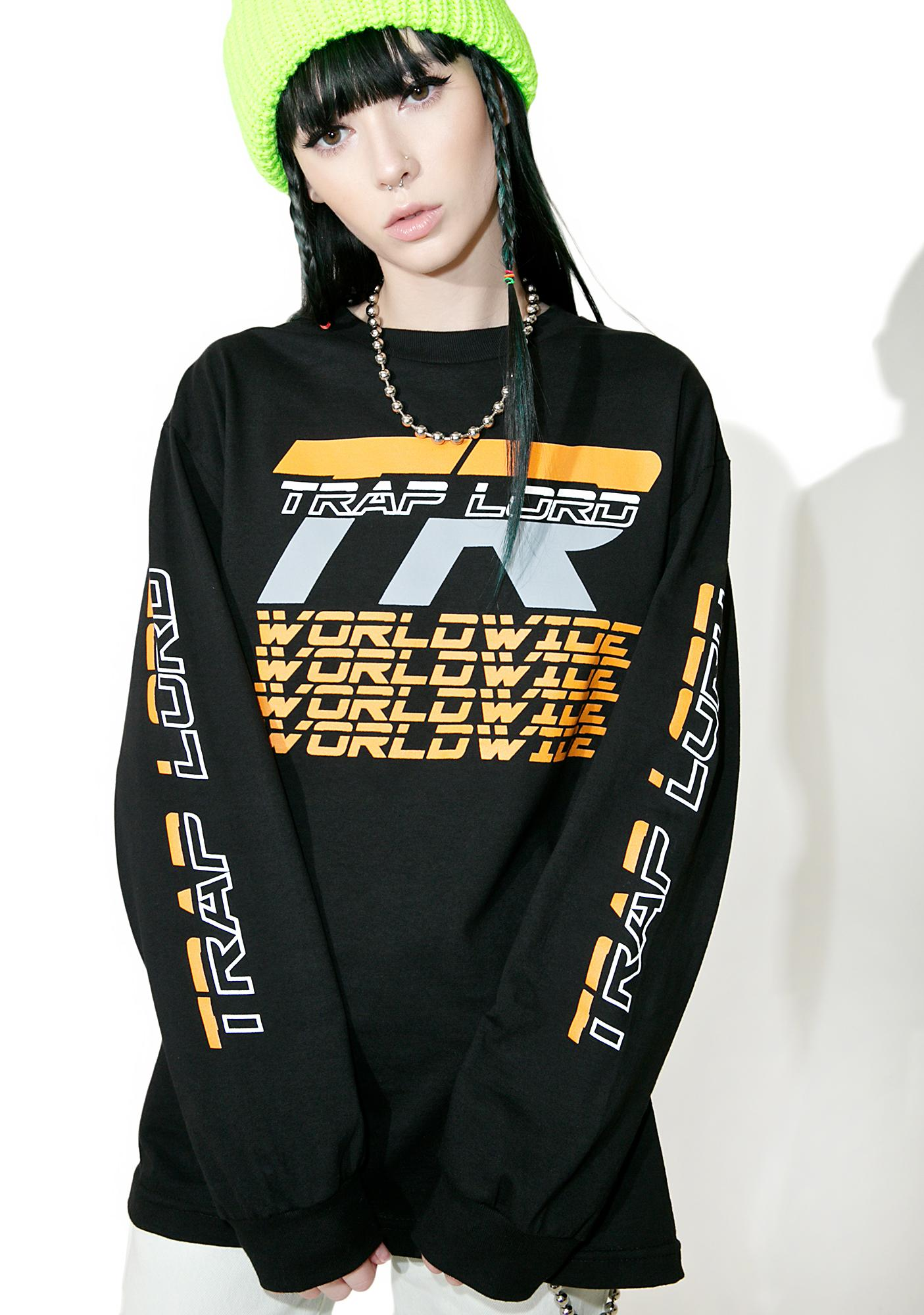 Traplord Worldwide Long Sleeve Top