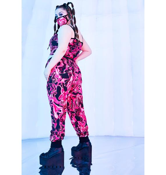 Club Exx Divine Lady Acid Dimension Thermal Joggers