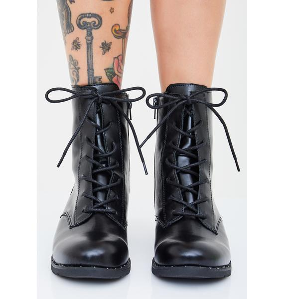 Basic Witch Ankle Boots