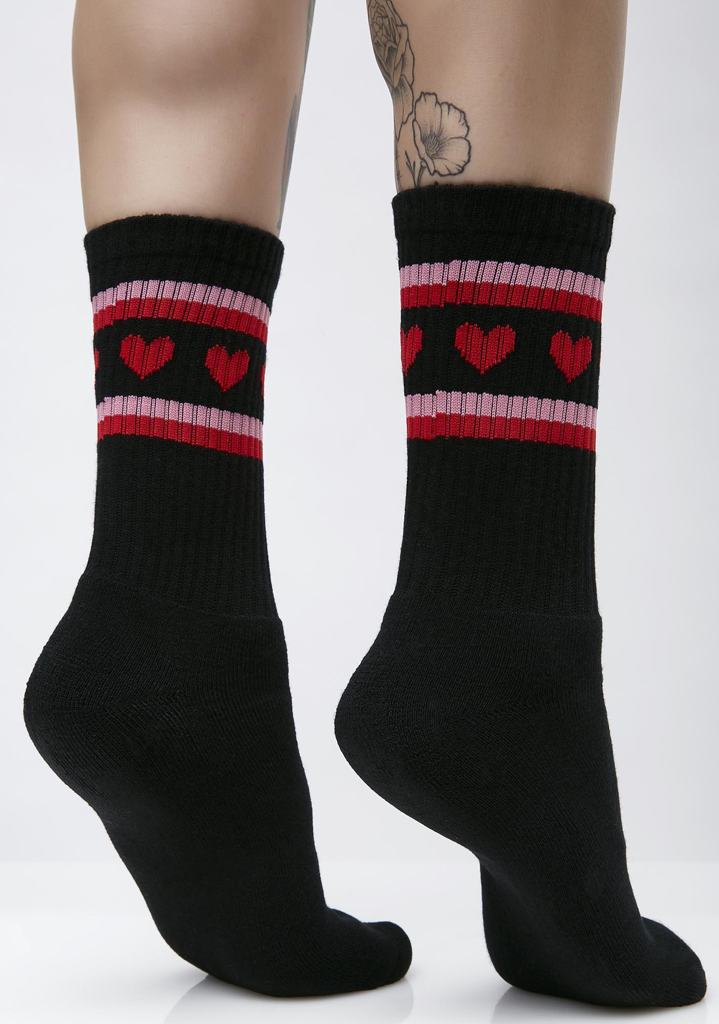 Lazy Oaf Dark Romance Socks