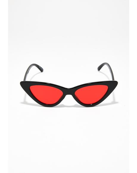 Poison Kiss Cateye Sunglasses