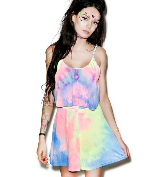 Acid Meadow Mini Skirt
