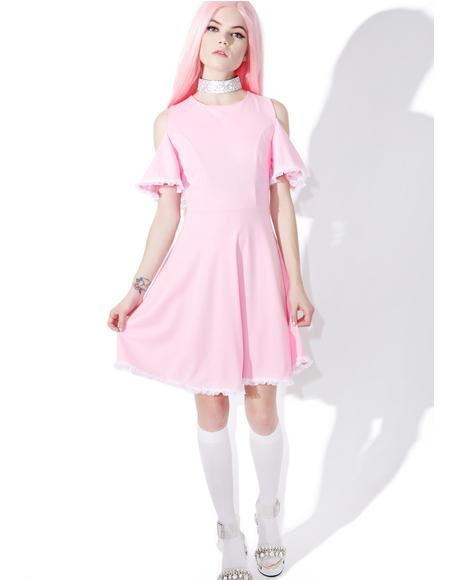 Gum Drop Flare Dress