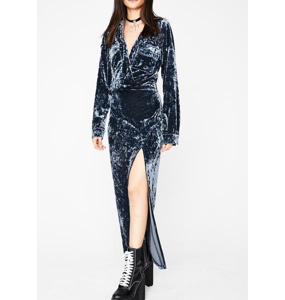 More Fun Velvet Dress