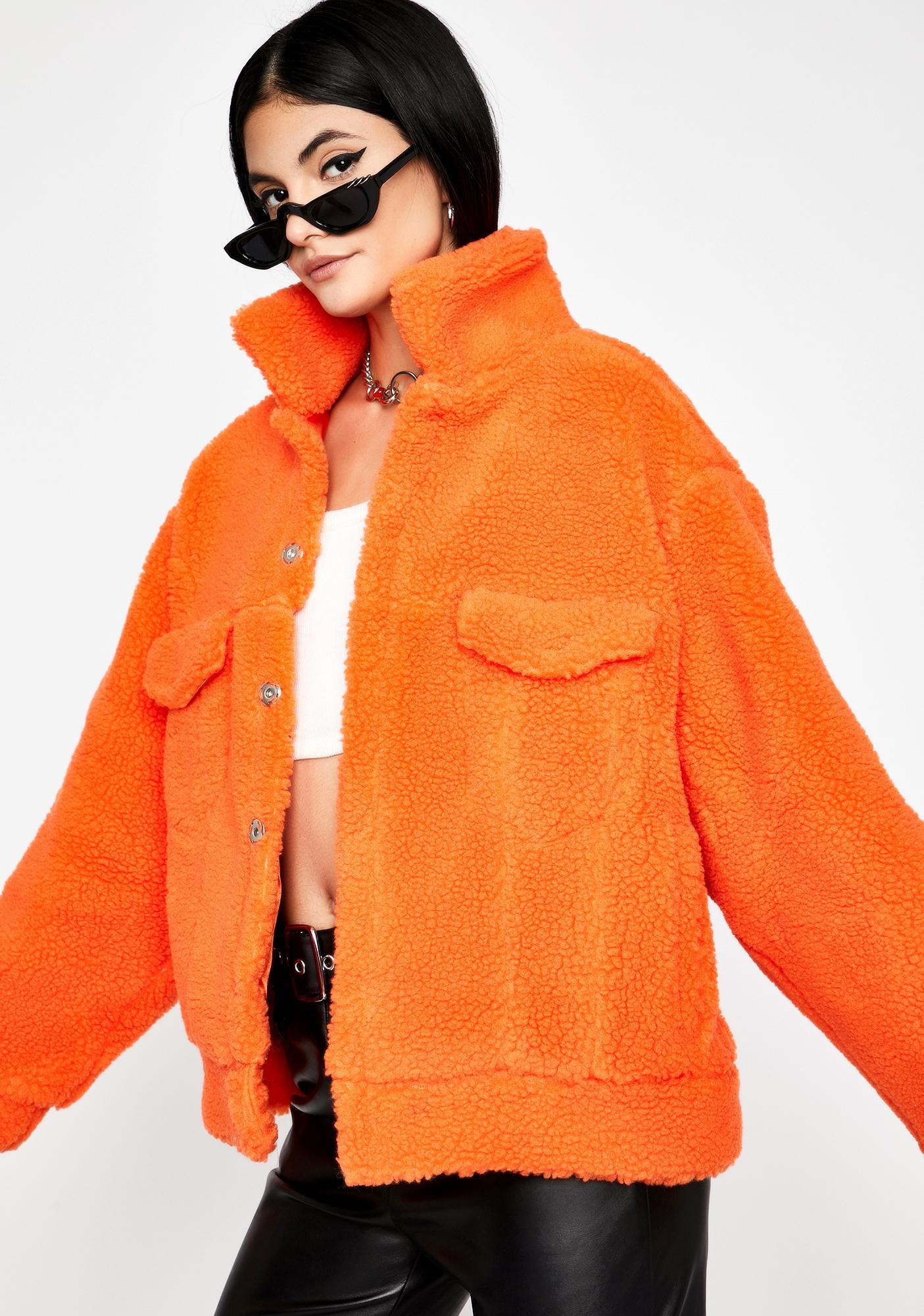 Cloud Puff Sherpa Jacket