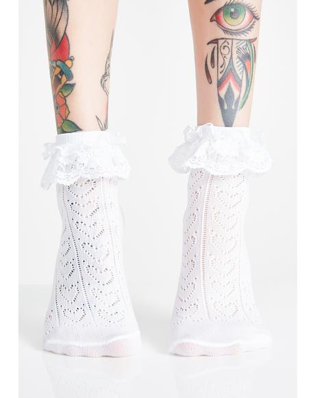 Adore Me Ruffle Socks