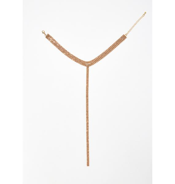 Let'z Talk Sugar Lariat Necklace