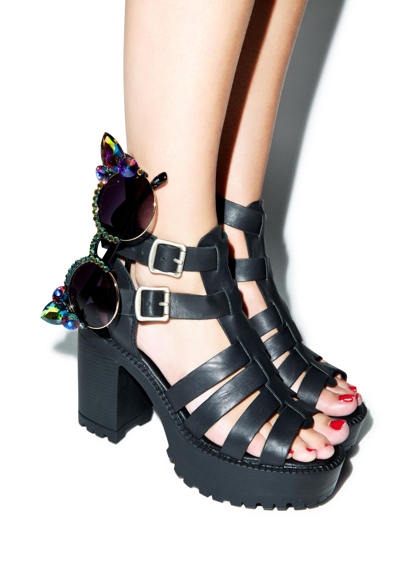 ROC Boots As If Platforms