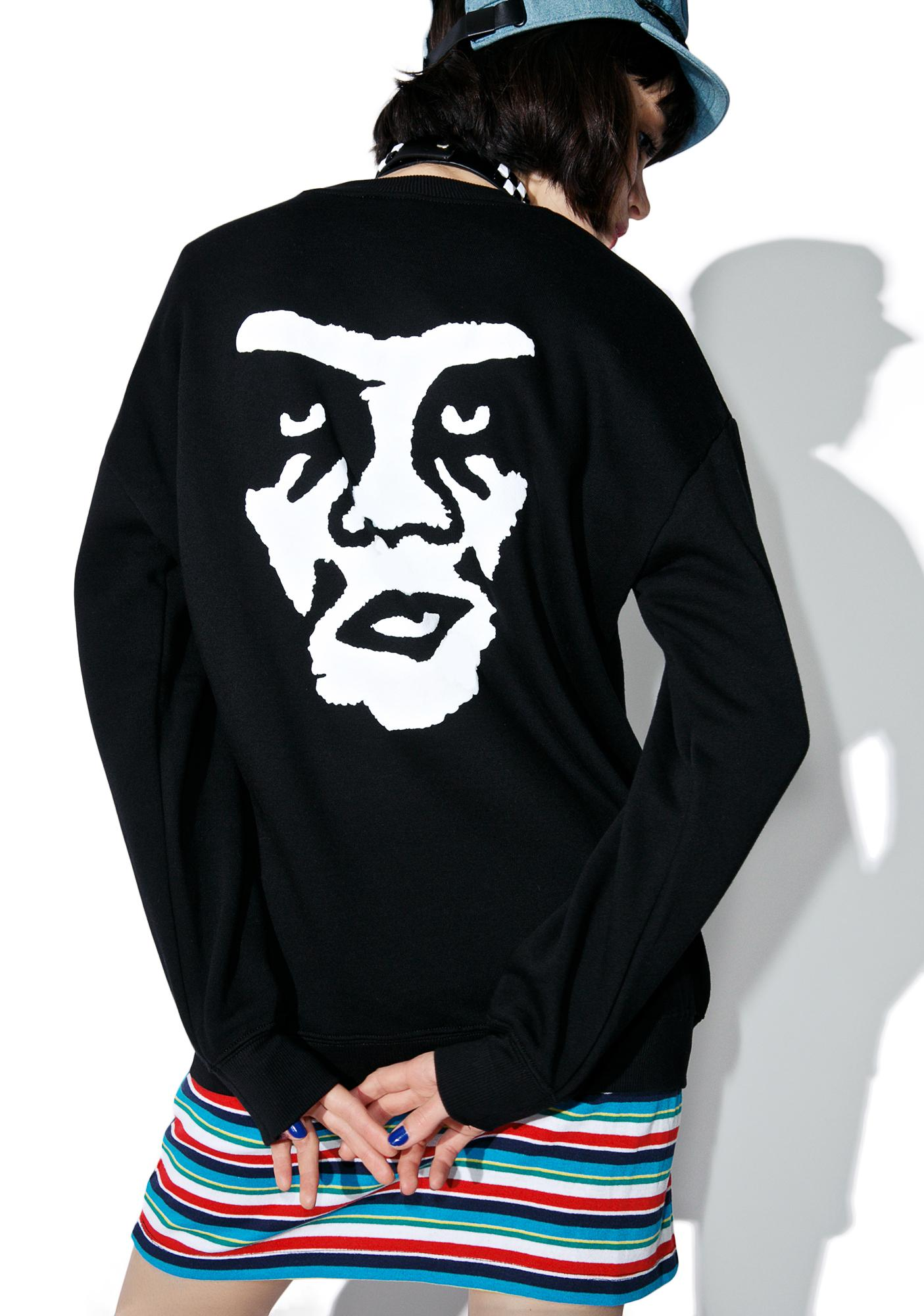 Obey The Creeper Crewneck Sweatshirt