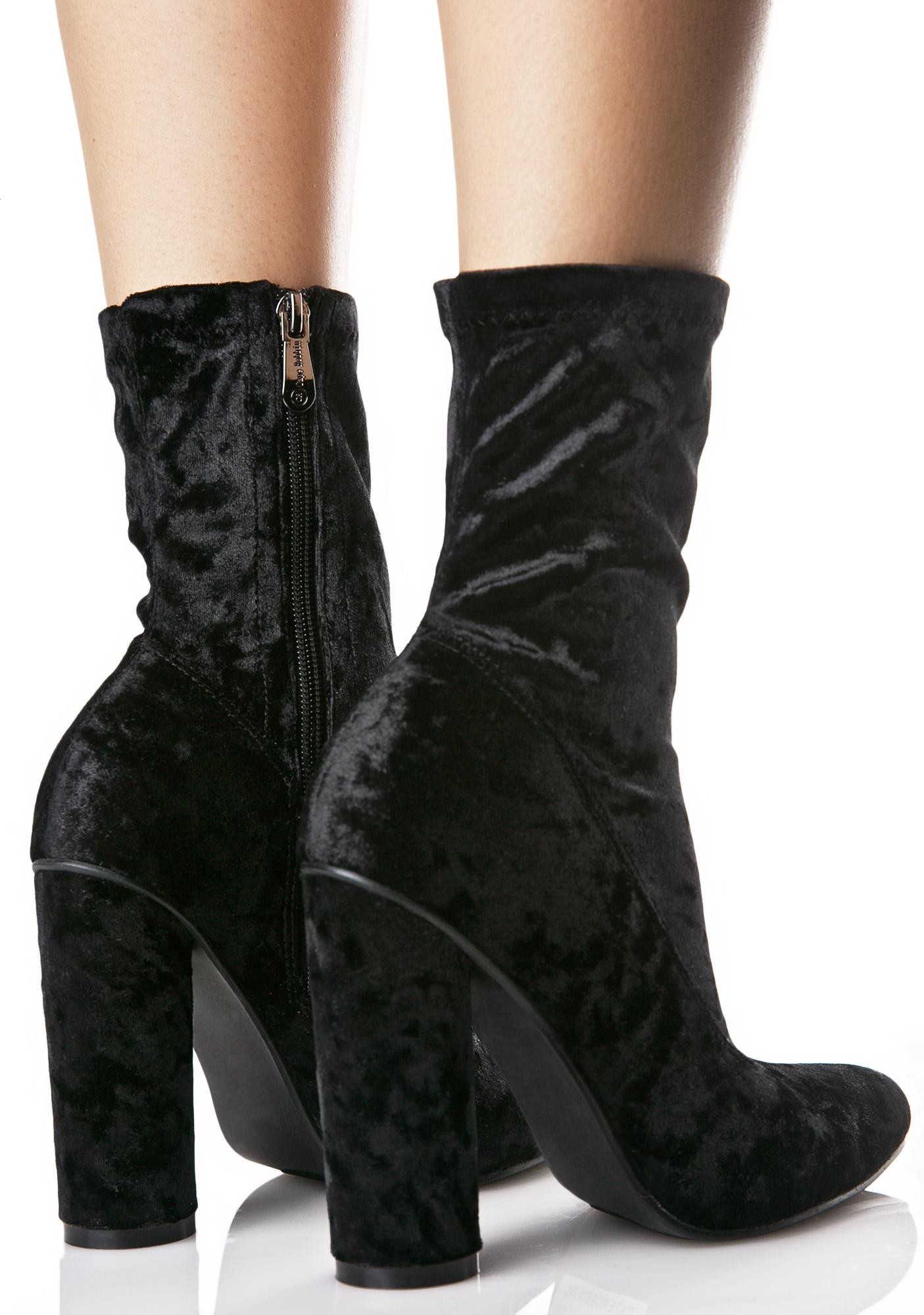 Midnight Planetary Ankle Boots
