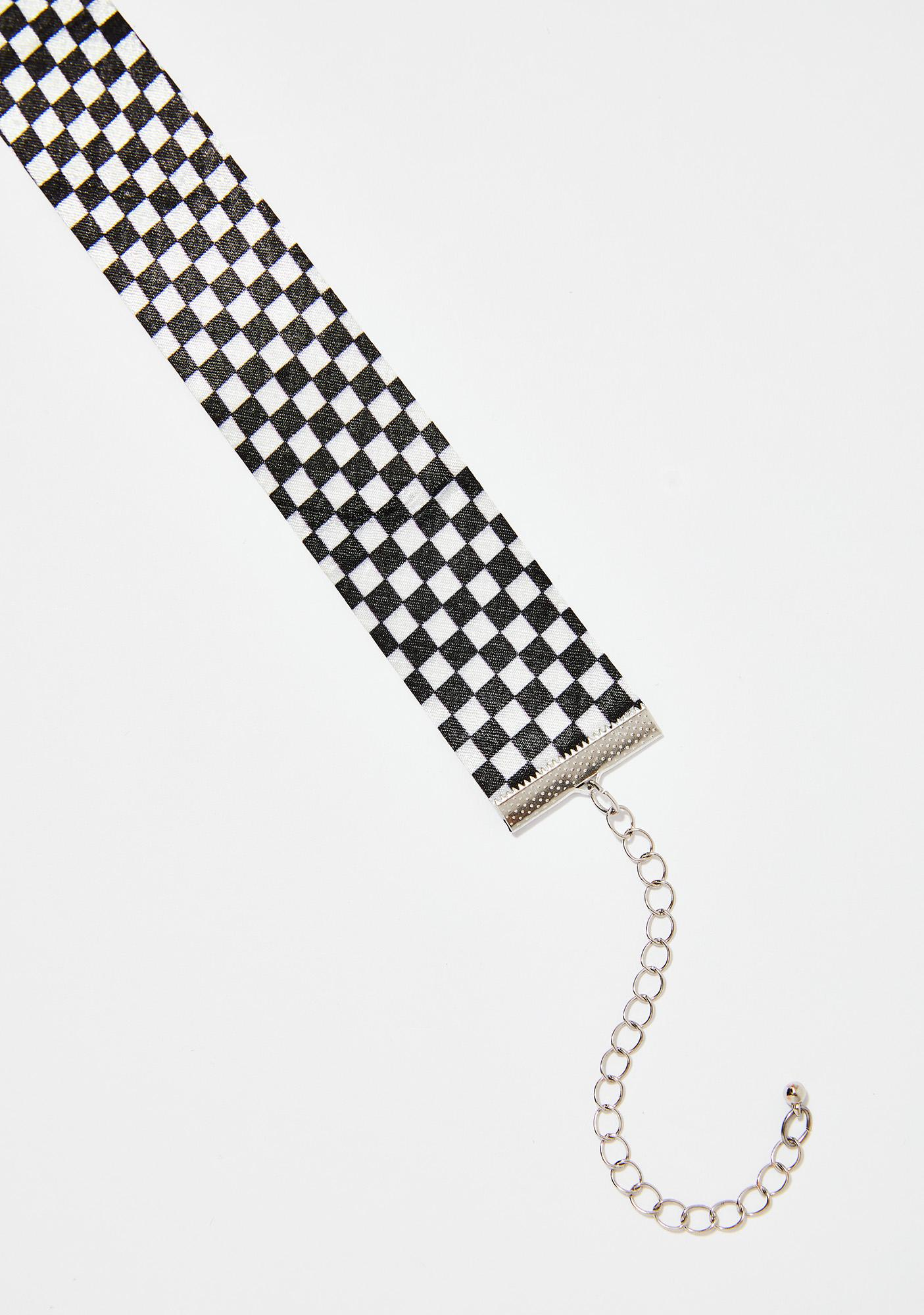 First Place Winner Checkered Choker