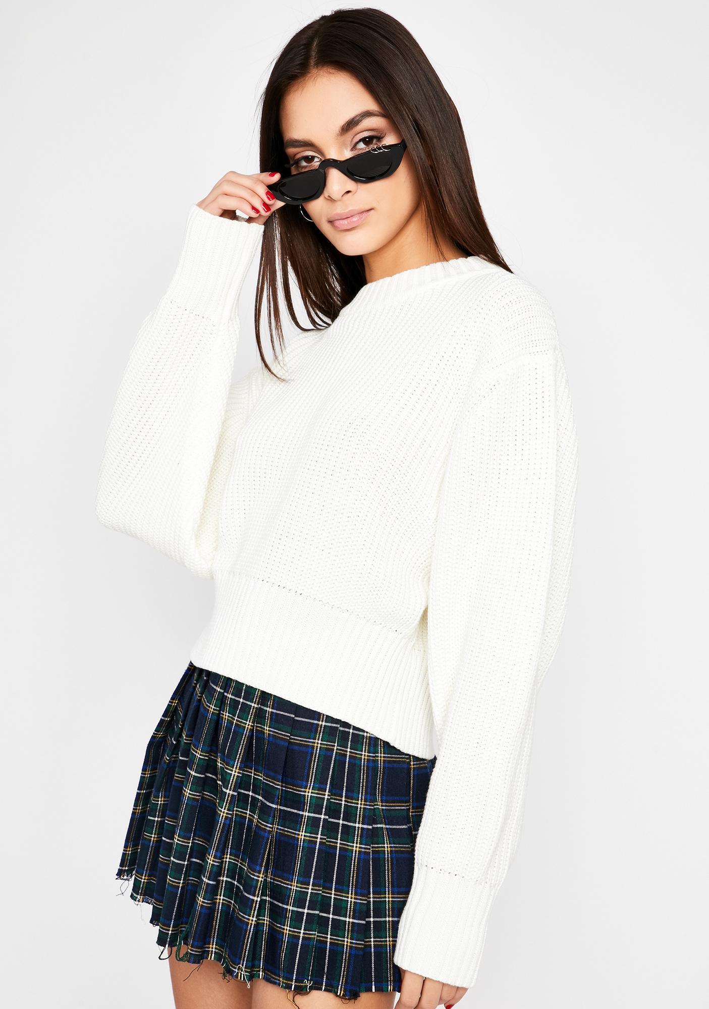 Practical Punk Knit Sweater