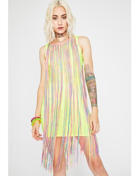 Dancing Diva Fringe Dress