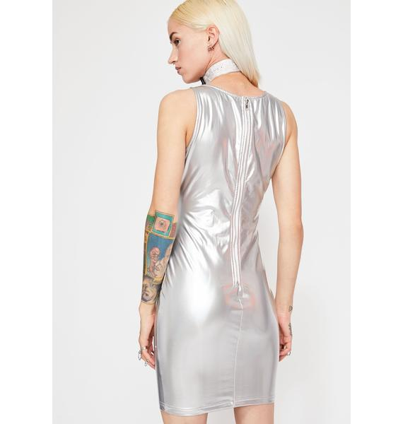 Electro Boost Hologram Dress