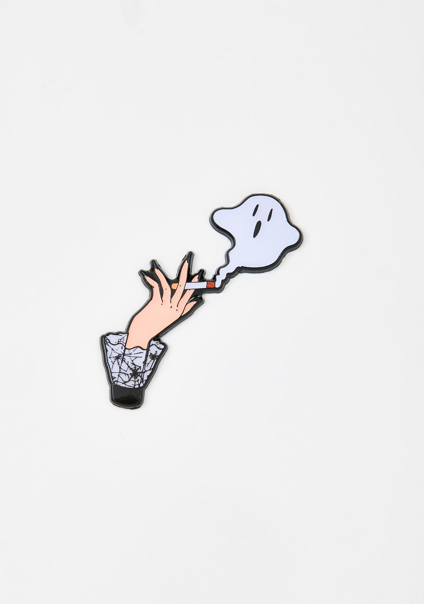 High On Halloween Enamel Pin by Lady Moon Co.