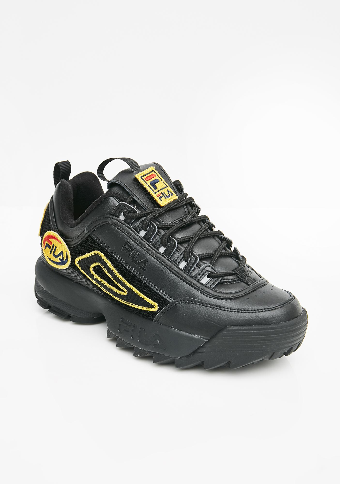Fila Midnight Disruptor II Patches Sneakers