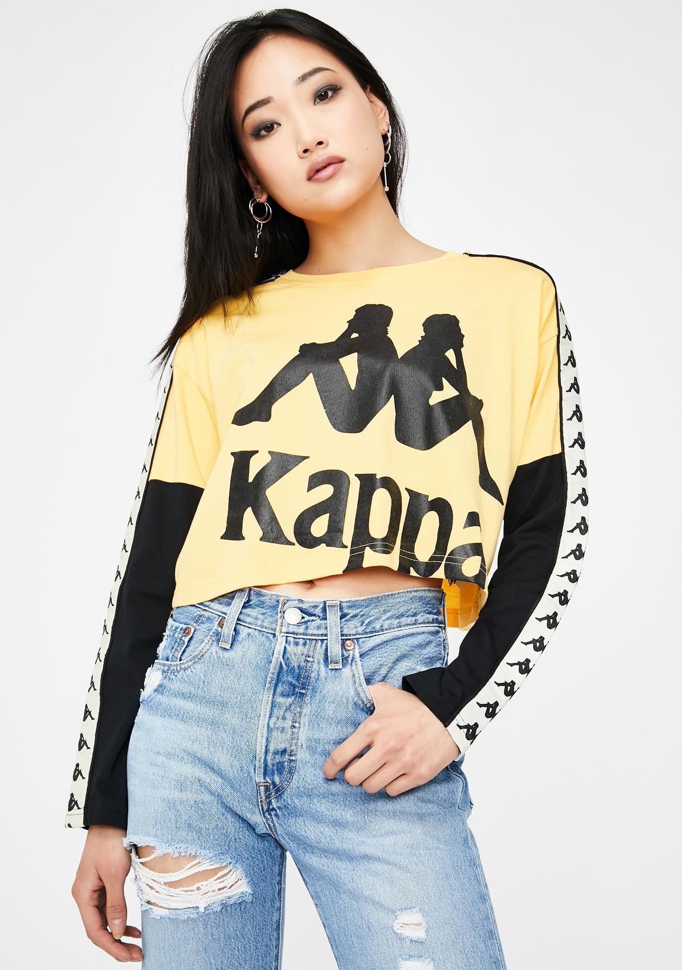 Kappa 222 Banda Boculus Graphic Crop Top