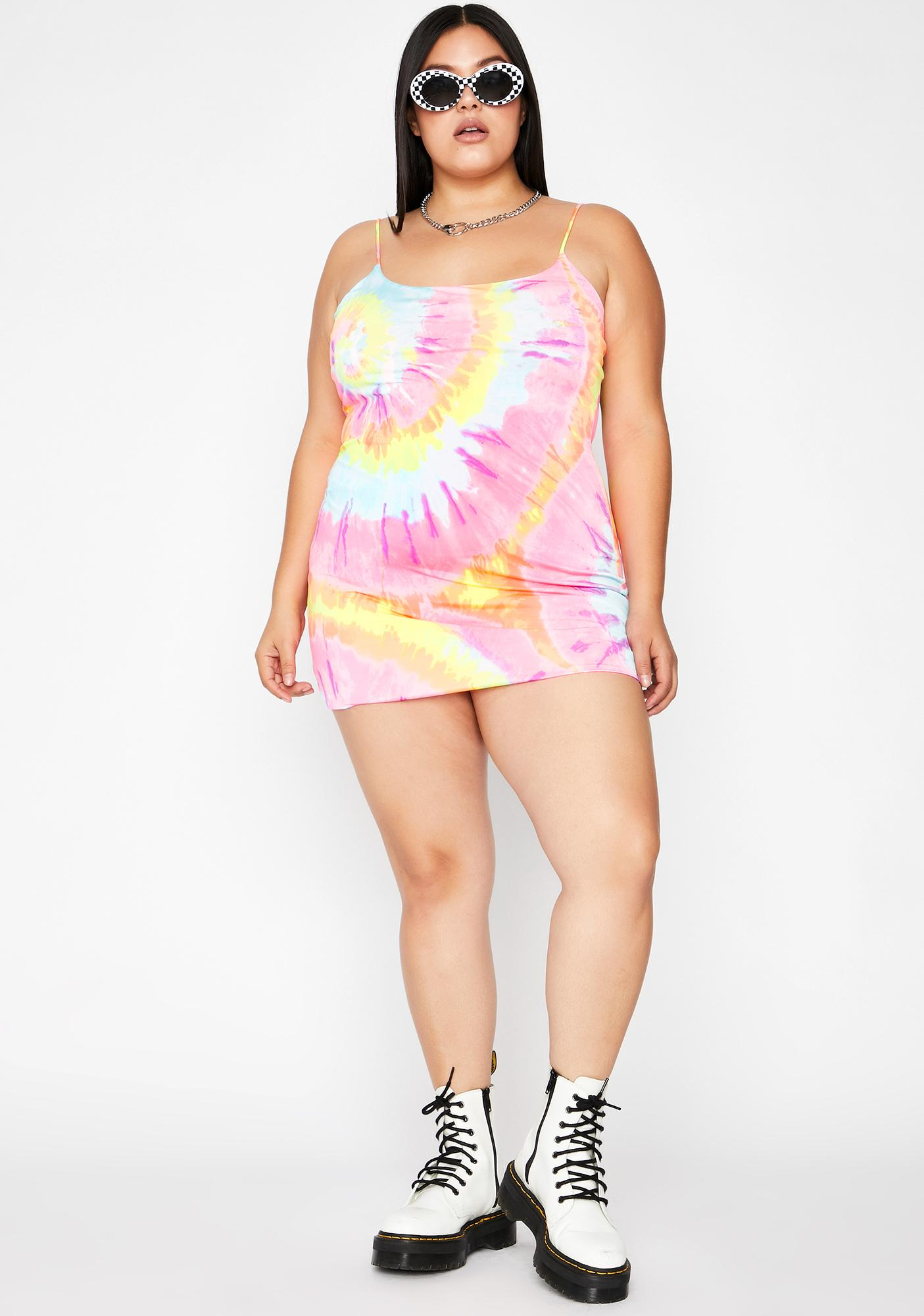 Divine Candied Bliss Tie Dye Dress