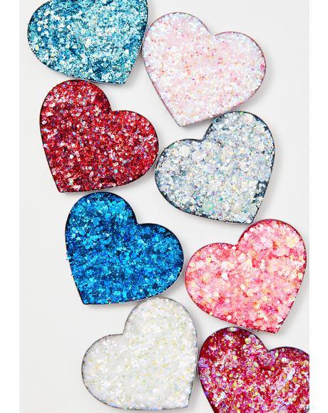 Love 1 Pressed Glitter