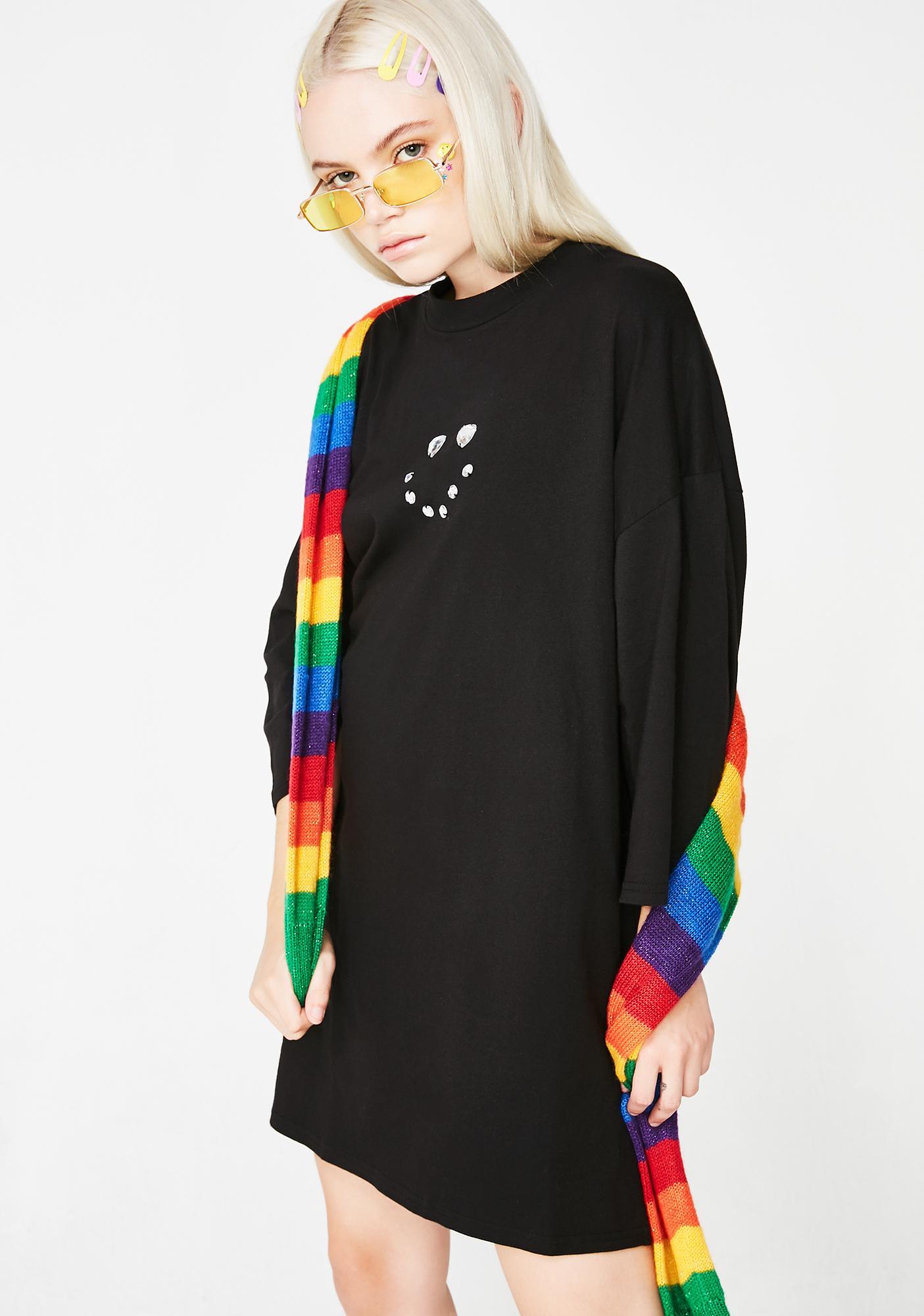 Lazy Oaf Shiny Face T-Shirt