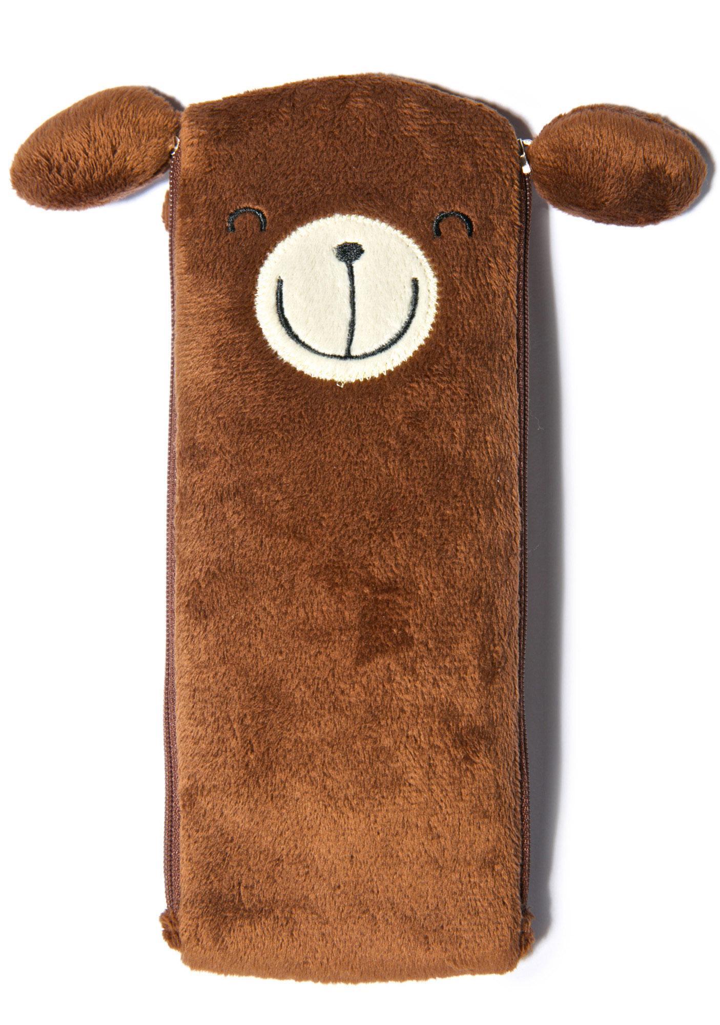 Beary Cute Pen Case